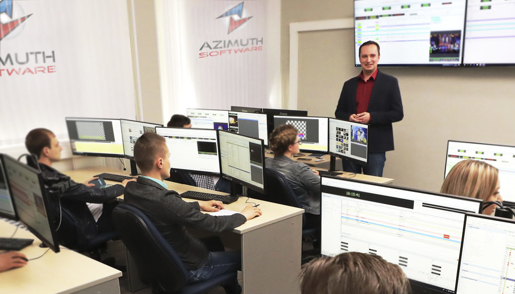 Technical Support team explains the benefits of tv broadcast software