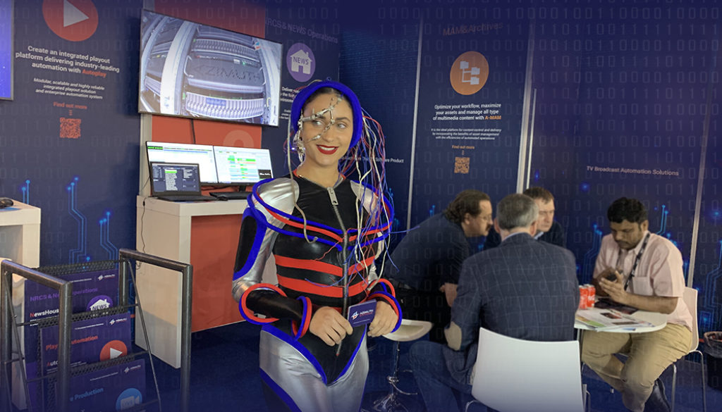Azimuth Soft_booth at IBC 2019