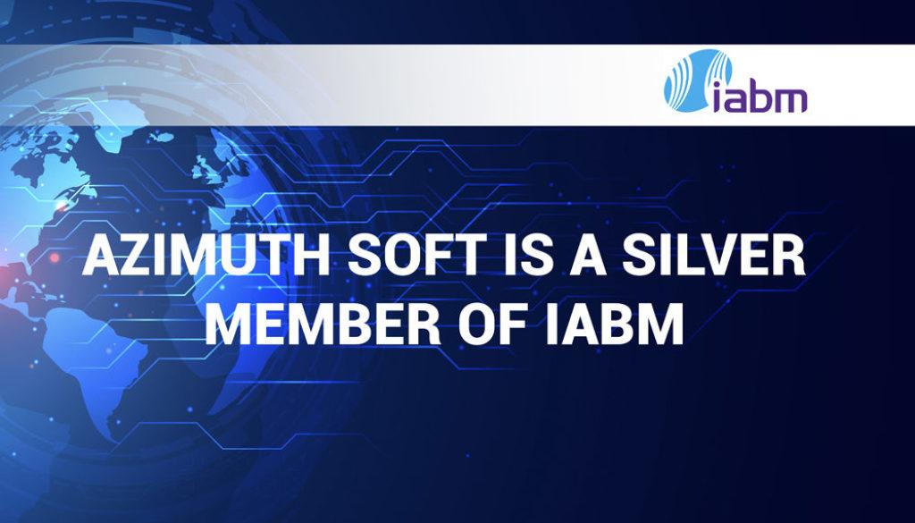 Azimuth Soft is a member of IABM