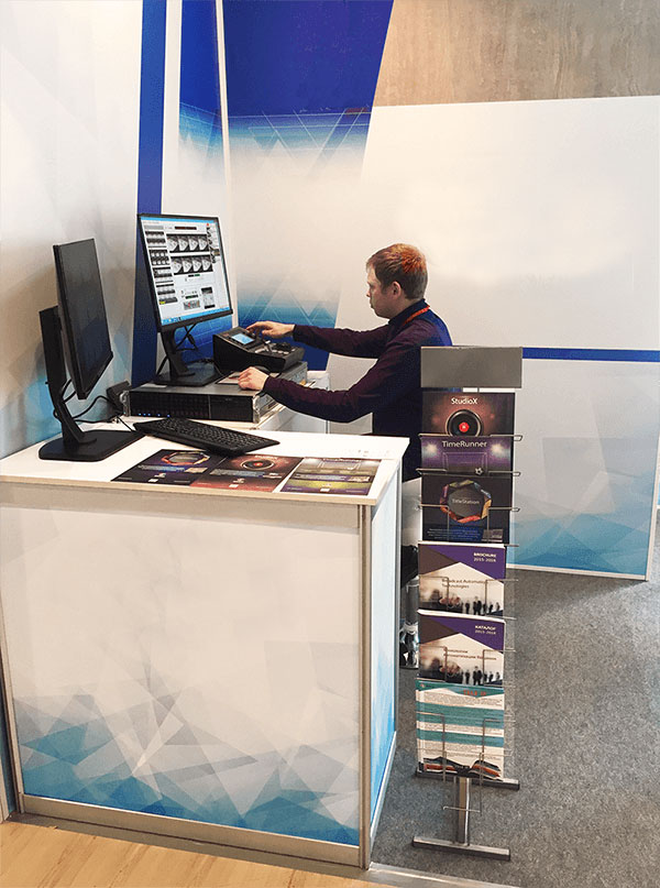 Azimuth Soft booth SPORT 2017 exhibition