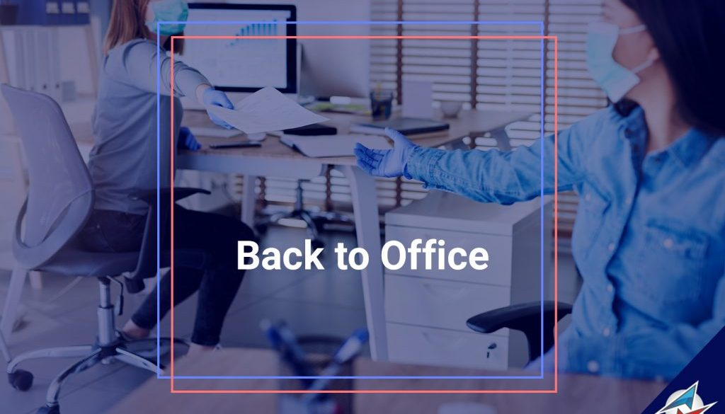 Azimuth Soft staff returned back to office after the pandemic