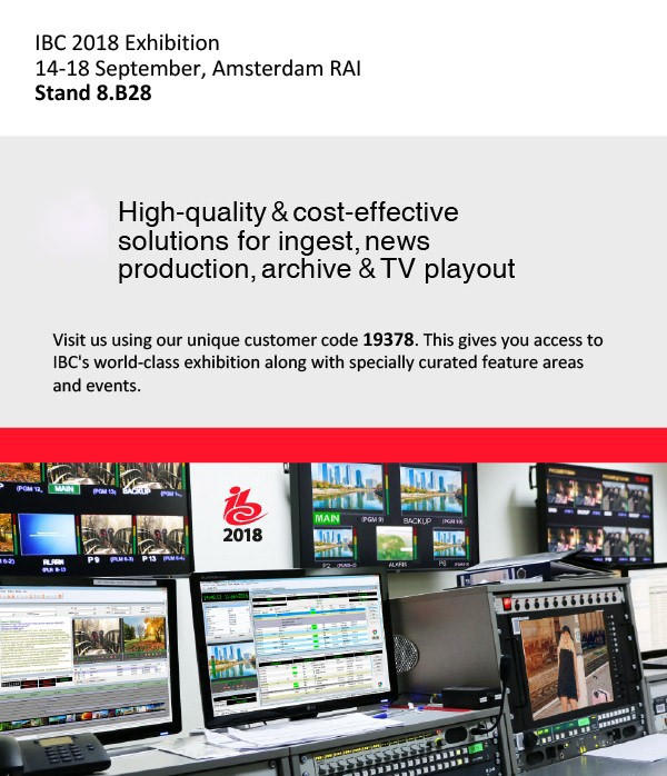 ibc 2018 welcome to our booth