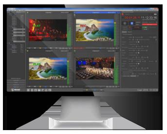 Studio X soft for live production