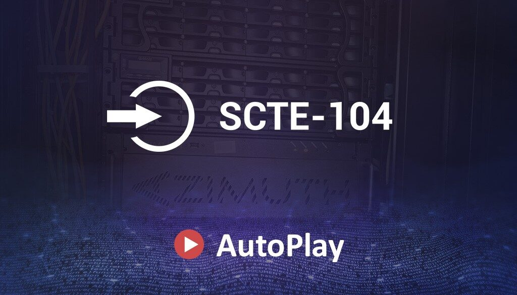SCTE-104 Support